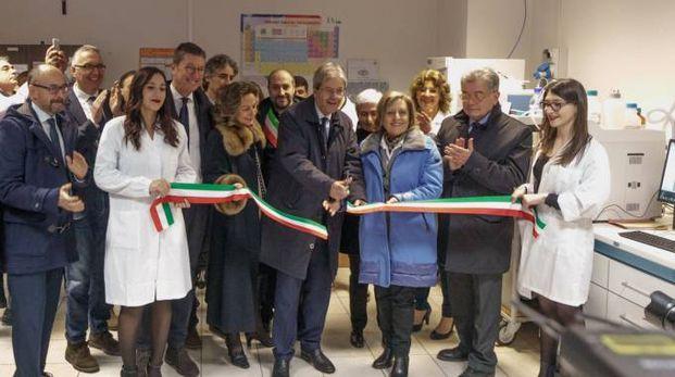 Paolo Gentiloni a Fermo (foto Zeppilli)