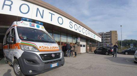 Ospedale Torrette di Ancona, il pronto soccorso (foto Antic)