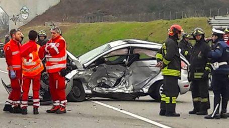 Incidente mortale a Brusaporto