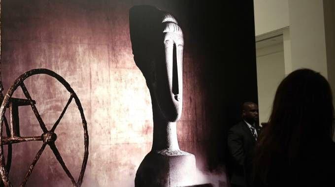 La testa di Modigliani