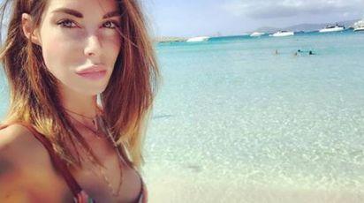 Isola dei Famosi, Bianca Atzei. Una foto su Instagram a settembre