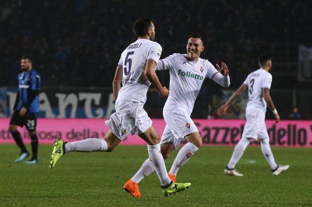 Atalanta-Fiorentina 0-1, Badelj (Ansa)