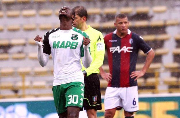Bologna-Sassuolo 1-1, Babacar (Ansa)