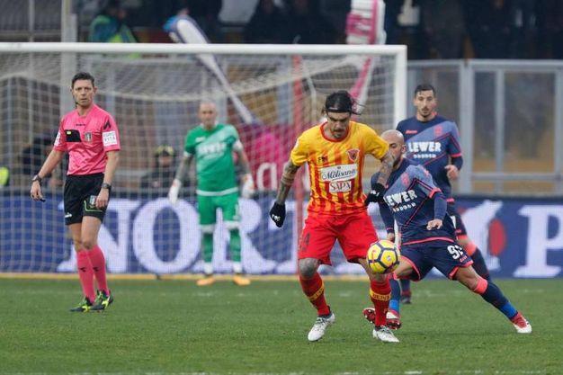 Benevento-Crotone 2-1, Viola (Ansa)
