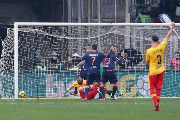 Benevento-Crotone 1-1, Sandro (Ansa)