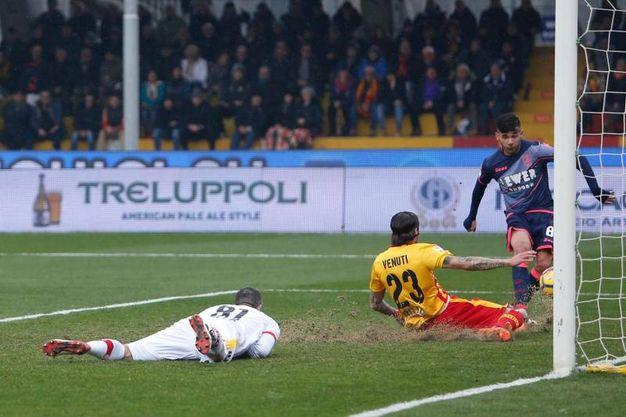 Benevento-Crotone 0-1, Crociata (Ansa)