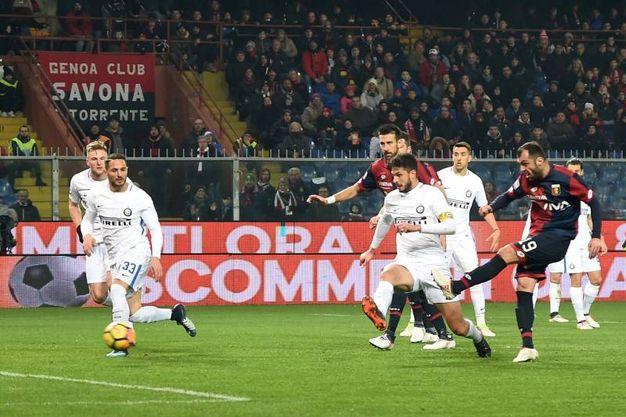 Genoa-Inter 2-0, Pandev (Ansa)