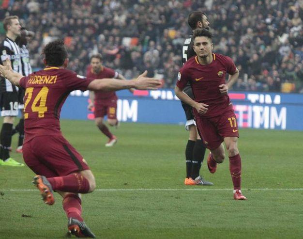 Udinese-Roma 0-1, Under (Ansa)