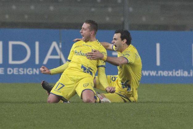 Chievo-Cagliari 1-0, Giaccherini (Ansa)