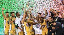 Basket, la Fiat torino conquista la Coppa Italia a Firenze contro Brescia (foto Germogli)