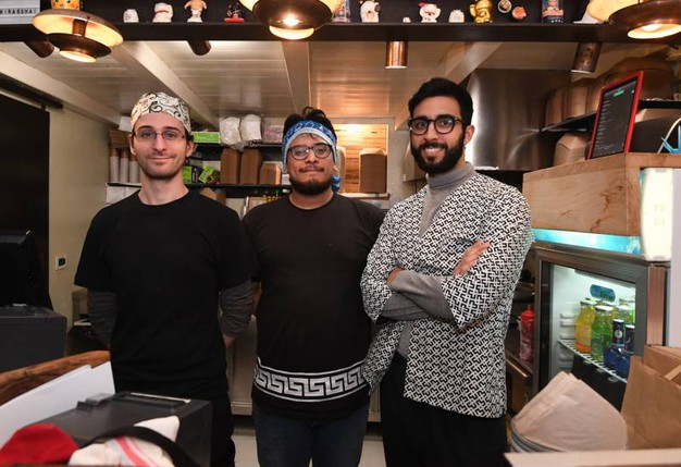 Tommaso Santuari, Marco Munari e Matteo Farnè (foto Schicchi)