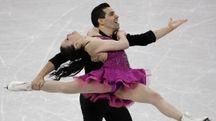Olimpiadi invernali 2018, Anna Cappellini e Luca Lanotte (Ansa)