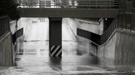 Attenzione ai sottopassi in caso di pioggia
