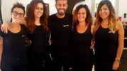 Christian Catania, Alice, Michela, Jessica e Rossella (Shine&Chic,Piazza Damiano Chiesa 3)