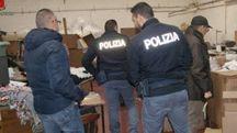 Il controllo  della polizia di Stato