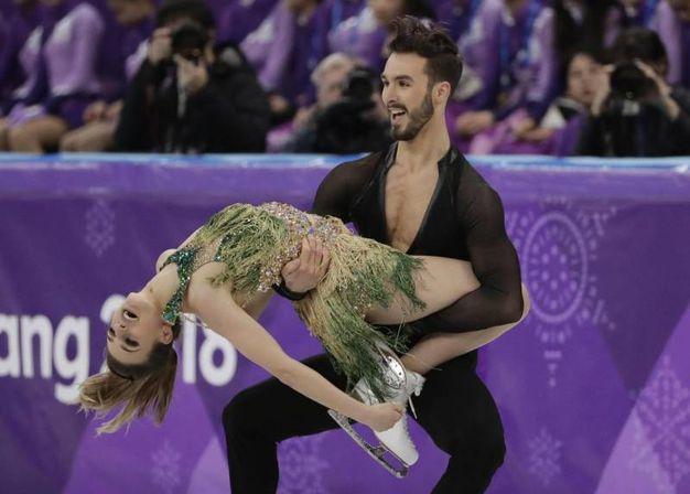Gabriella Papadakis e Guillaume Cizeron (Ansa)