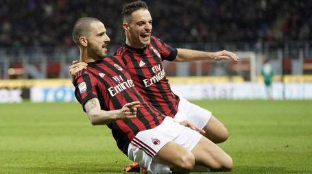 Bonucci ha commentato il grande momento del Milan