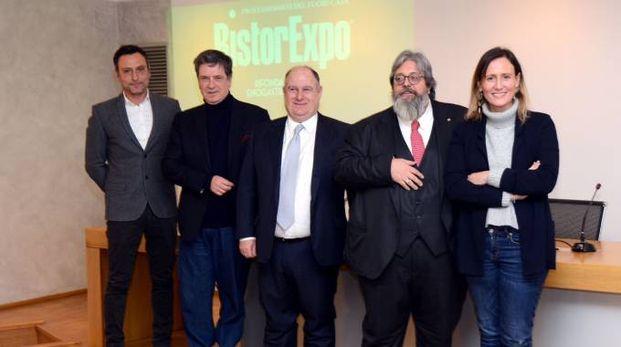Marco Caterisano, Giacomo Mojoli, Antonio Peccati, Giovanni Ciceri e Cristina Scarpellini