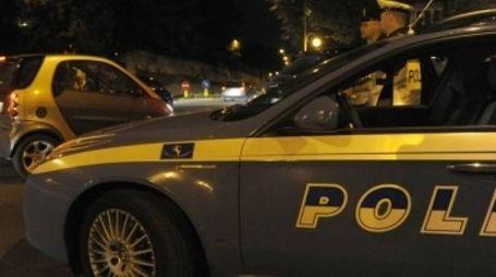 In azione gli agenti di polizia