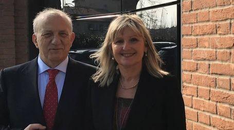 Ruggero Cadossi e Donata Marazzi dell'Igea di Carpi