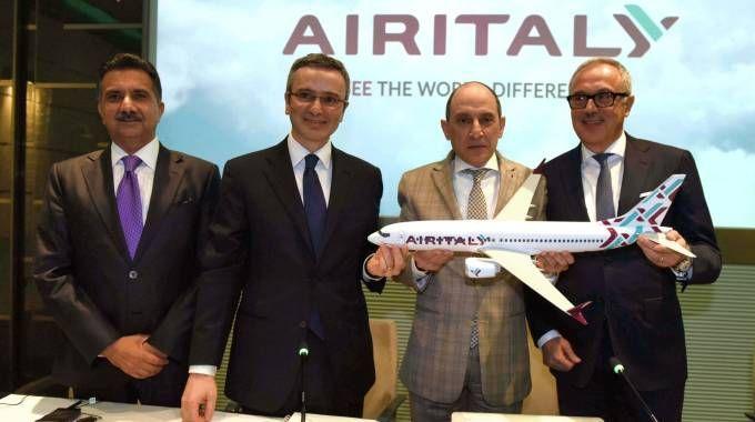 La presentazione di Air Italy