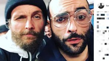 Jovanotti e Marco Mengoni (Instagram)