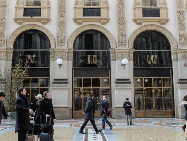 Il 'Cracco' in Galleria Vittorio Emanuele (Lapresse)