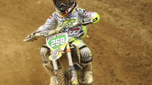 Il campioncino di motocross Edoardo Martinelli