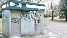 I bagni pubblici del parco della Resistenza