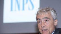 Il presidente Inps Tito Boeri (Ansa)