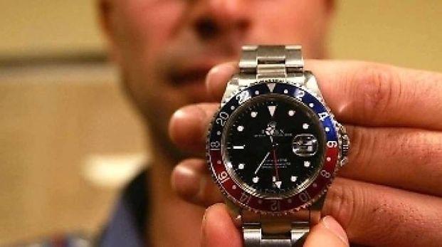 Il Rolex valeva 4.500 euro