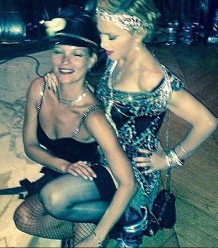 Madonna e Kate Moss (Instagram/ Madonna)