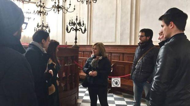 Delegazione israeliana in visita a Pitigliano