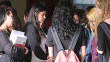 Studenti in attesa (foto archivio)