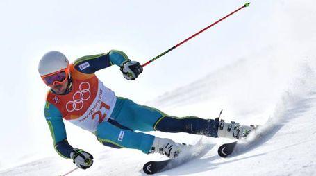 Myhrer medaglia d'oro in Slalom