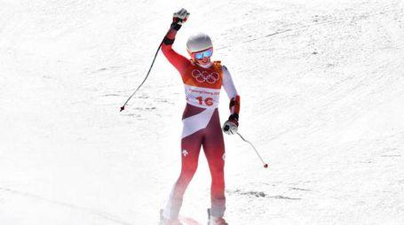 Michelle Gisin medaglia d'oro