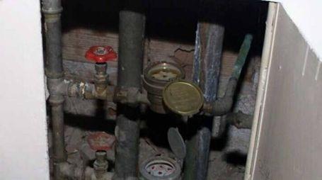 Contatore d'acqua (foto d'archivio)