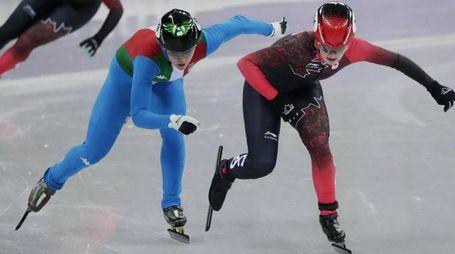 Olimpiadi invernali, Arianna Fontana in finale nei 1000 metri short track (Ansa)