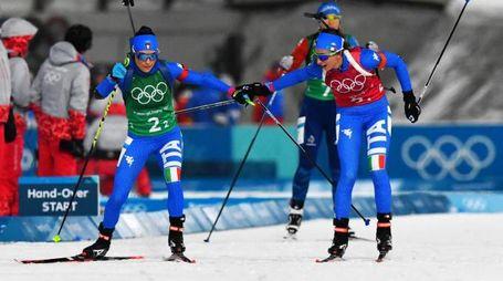 Italia dietro nella staffetta femminile. Decisivo l'ultimo poligono