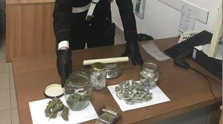 La droga sequestrata al 21enne verucchiese