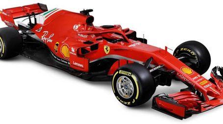 La nuova Ferrari FS71H (Ansa)