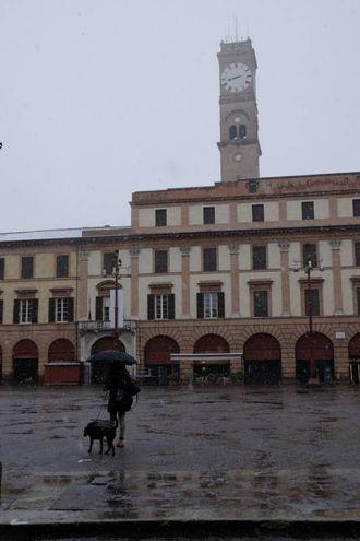 Neve caduta abbondante in Appennino (Foto Frasca)