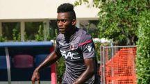 Il terzino 22enne franco-maliano Cheick Keita con la maglia rossoblù (FotoSchicchi)