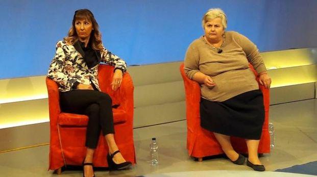 Alba De Rosa con l'avvocato Daniela D'Emilio