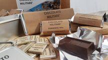 Barrette del cioccolato militare