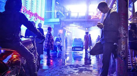 Una scena del film 'Mute' – Foto: Keith Bernstein/Netflix