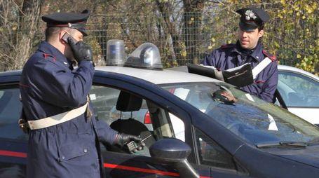 Una foto  generica di carabinieri