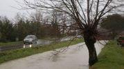 Maltempo a Cesenatico, pioggia continua e disagi (foto Ravaglia)