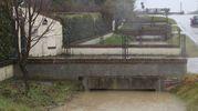 Maltempo a Cesenatico, critica la situazione di molti canali (foto Ravaglia)