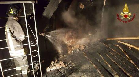 Incendio in un appartamento di Massa Marittima